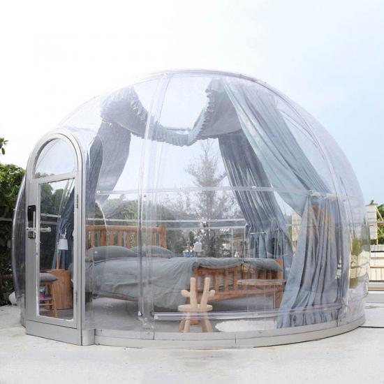 Outdoor Camping Dome Tent,transparent dome tent,transparent bubble tent,transparent clear domes